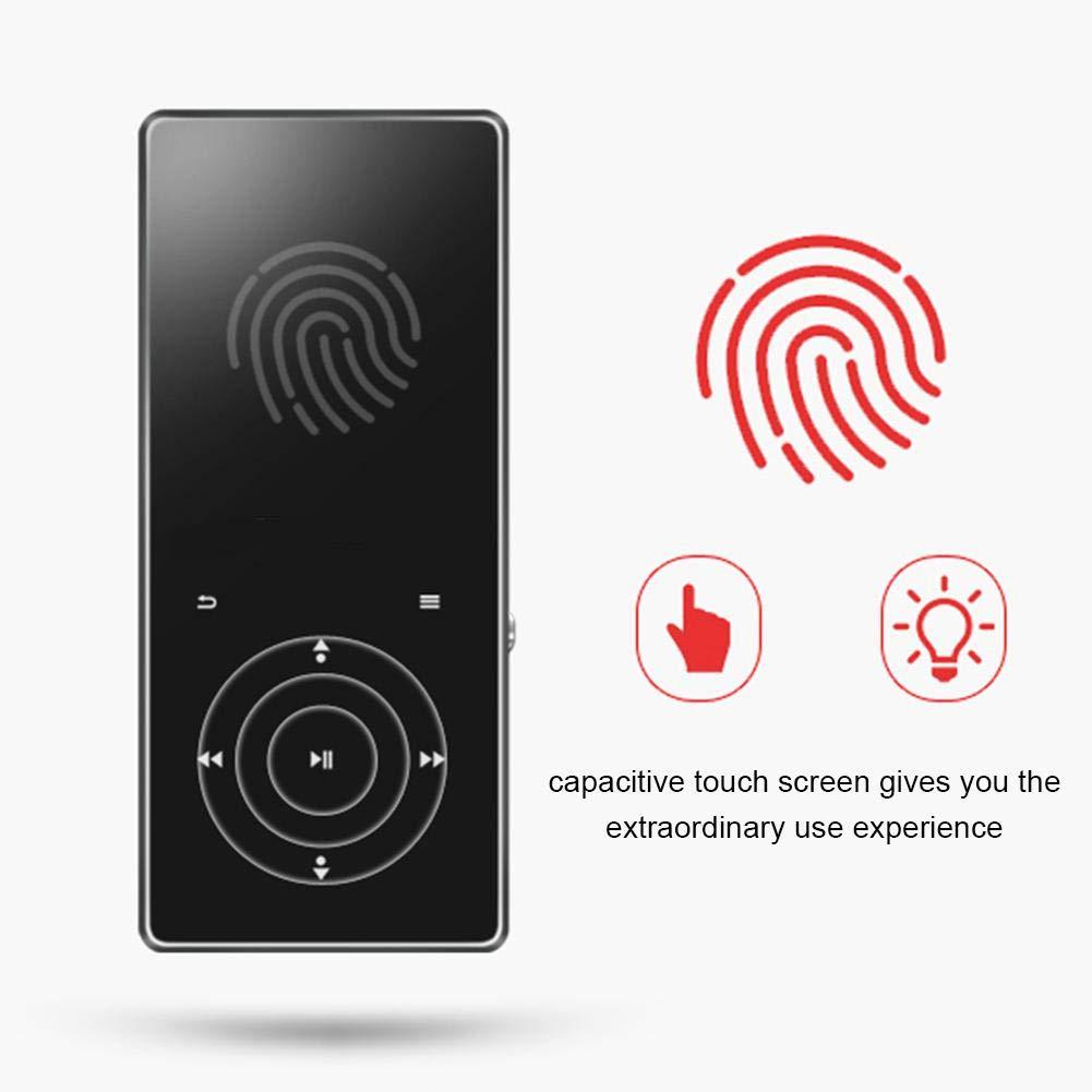 HiFi MP3 Player, Portable Mini High Definition MP3 Digital Music Player High Resolution Lossless Sound HD Audio Player with Card Slot Screen Display by Pomya (Image #2)