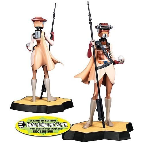 Gentle Giant Studios - Star Wars Animated Maquette Leia in Boushh Disguise EE Exclusive]()
