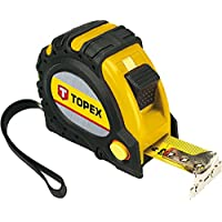 Topex 27C345 Flexómetro (5m / 25mm, punta magnética)