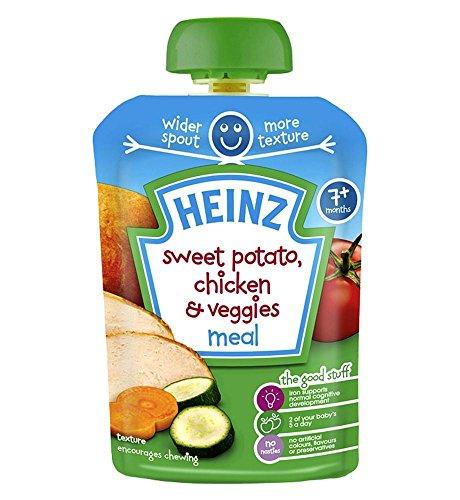 Heinz 7+ Months Sweet Potato, Chicken & Veggies Meal ()