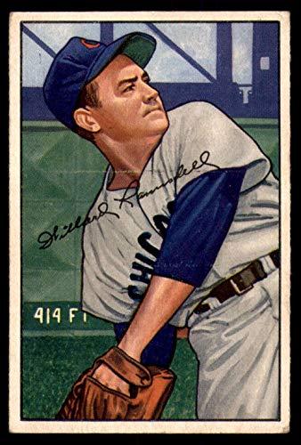1952 Bowman #22 Willard Ramsdell G-VG Cubs ()