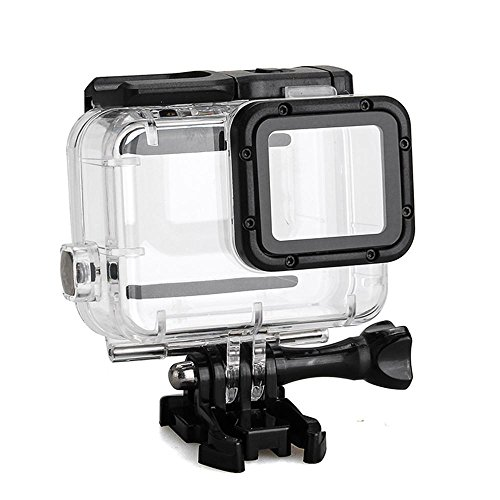 niceEshop(TM) Waterproof Diving Case for GoPro Hero5, Replacement Waterproof Housing Cover, Protective Case, 45M Underwater Diving Swimming, Camera Accessories, Black