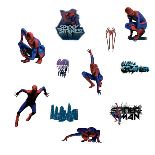 RoomMates RMK1760SCS Amazing Spiderman Peel and Stick Wall Decals
