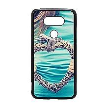 LG G5 Hard Phone Back Mobile Thin TPU Skin Case Cover For LG G5 hands heart plexus t-shirt Hot Design By [Andrea Novak]