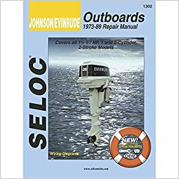 Book Mercury Outboard, Volume II, Certified Textbook, 3 and 4 Cylinder, 1965-1986, Tune-up & Repair.