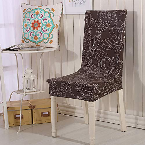 SHANYT Chair Cover Printing Color Chair Set Lining Wedding Banquet Folding Hotel Washable Washing Machine Chair Cover 1Pc-8, Universal Size ()