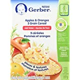 Gerber Gerber 5 Grain W/Apples & Oran