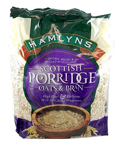 Scottish Food (Hamlyn's Porridge Oats and Bran)