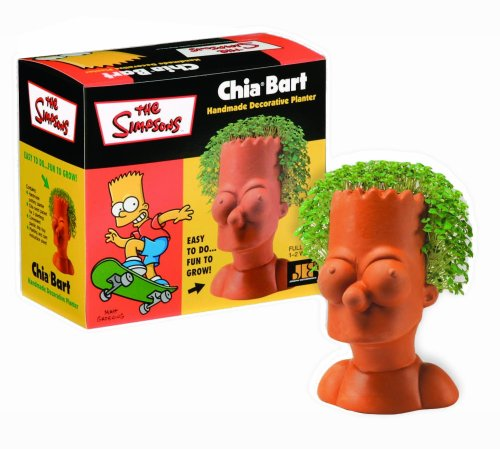 Chia Bart Collectable - Grass Chia Pet