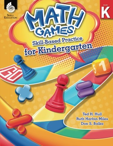 Day Kindergarten Plans - Math Games: Skill-Based Practice for Kindergarten