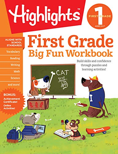 (The Big Fun First Grade Activity Book (HighlightsTM Big Fun Activity Workbooks))
