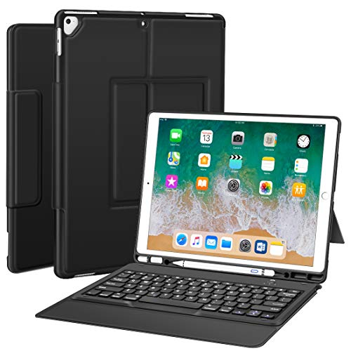 Buy Bargain Sounwill ipad pro 12.9 Case with Keyboard Compatible for ipad pro 12.9 2015/2017,Â...
