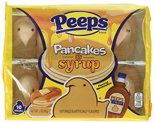 Exclusive Limited Edition Peeps | Pancakes & Syrup Peeps