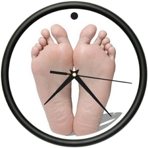 Podiatrist Wall Clock Office Decor Waiting Room Gift