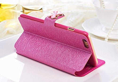 5S 3D Strass Bling Portable Ekakashop Rose Housse Jolie Papillon Champagne Coque iPhone Coque iphone Bling SE w1qHXFH