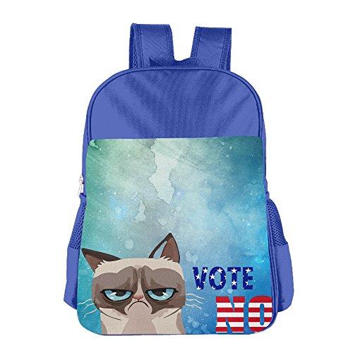 [JXMD Custom Vote No Cat Boys&Girls School Bagpack For 4-15 Years Old RoyalBlue] (Fever Panda Adult Costumes)