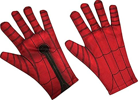Rubie's Costume Spider-Man Homecoming Costume Gloves - Authentic Spider Man Costume Accessories
