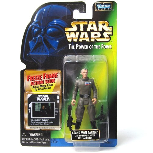(Star Wars Power of the Force Freeze Frame Grand Moff Tarkin Action Figure 3.75 Inches)
