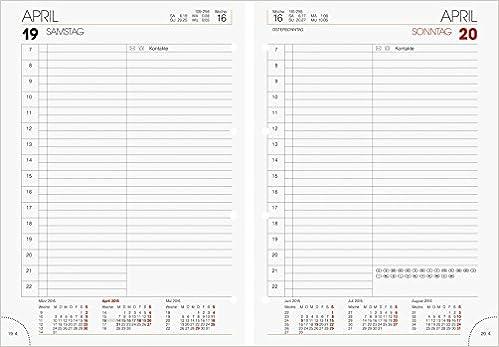 Ersatzkalender f/ür Modell 765 1 Tag 14,3x20,2cm 1 Seite