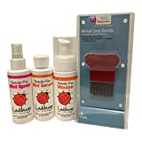 Lice Natural Prevention & Elimination Bundle – Includes Elimination Mousse, Elimination Mint Serum, Prevention Spray, and a lice Comb