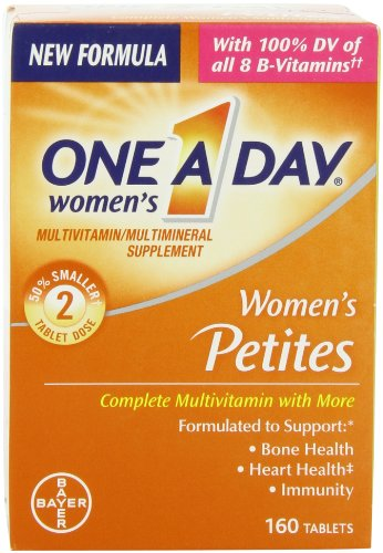One-A-Day Women's Petites Complete Multivitamin, 160 Count