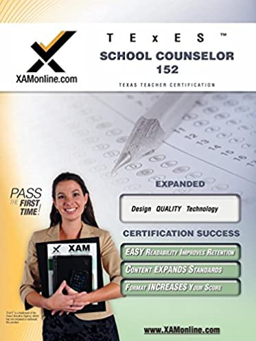 amazon com texes school counselor 152 teacher certification test rh amazon com