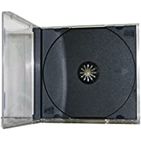 Mediaxpo Brand 200 STANDARD Black CD Jewel Case (Unassembled)