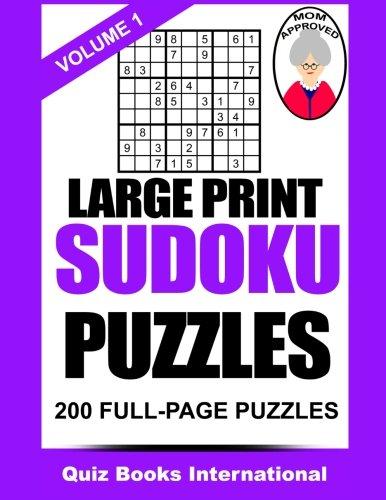 Large Print Sudoku Mike Edwards product image