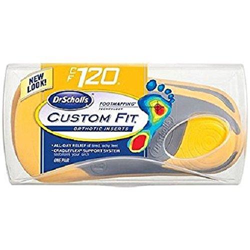 Dr. Scholls Custom Fit Orthotics, CF120 Yellow Unisex