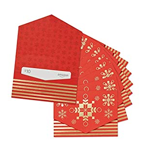 Best Epic Trends 51P-6JmS5gL._SS300_ Amazon.com $10 Gift Card - Pack of 10 Mini Envelopes