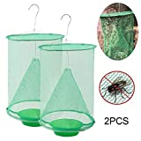 FOONEE Food Bait Ranch Insects Trap, Most Effective Indoor & Outdoor Fly Catcher