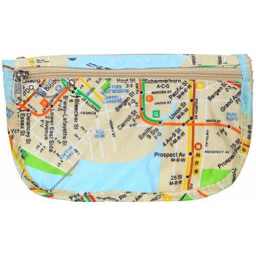 CTA M.T.A. Large Cosmetic Bag, Print/MTA NYC Subway, One ...