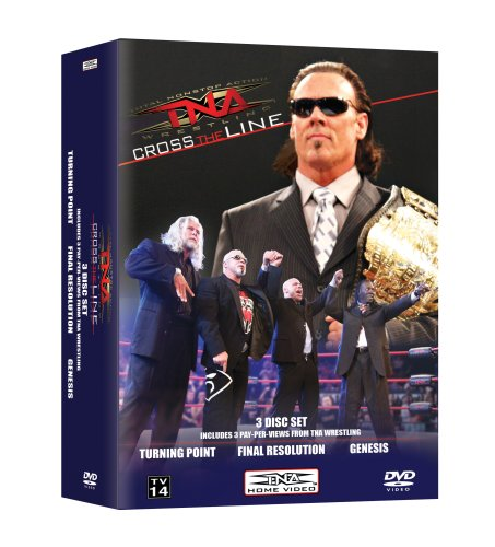 Tna Cross - TNA Cross The Line PPV Vol 2 (Turning Point, Final Resolution & Genesis)