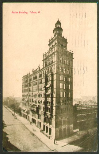 - The Nasby Building at Toledo OH postcard 1908