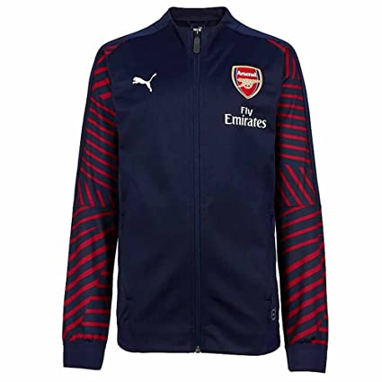 95d3d4b21ad Image Unavailable. Image not available for. Color  PUMA 2018-2019 Arsenal  Stadium Jacket ...
