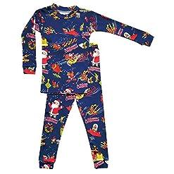 Books to Bed Boys Pajamas 12 Sleighs of Christmas Pajama Set
