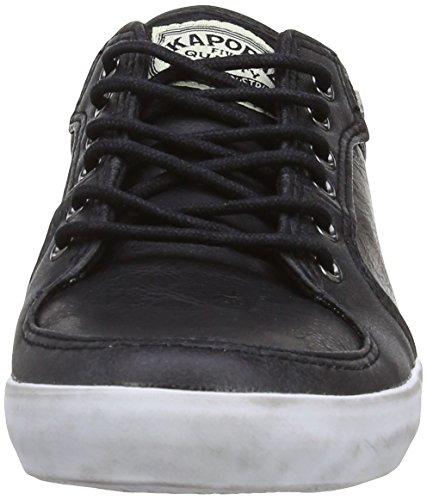 Baskets Kaporal femme mode Sael Black Noir xYHfq5UwT
