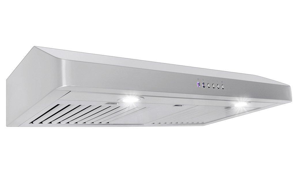 amazon com proline wall undercabinet range hood pljw 185 36 600 cfm rh amazon com