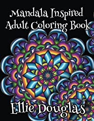 Mandala Inspired Adult Coloring Book