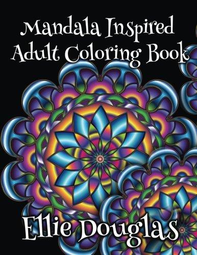 Mandala Inspired Adult Coloring Book