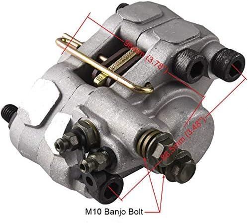 Wingsmoto /Étrier de frein arri/ère pour Polaris Trail Boss 325 330 Trail Blazer 250 400 Scrambler 400 Remplace 1910691 1910367