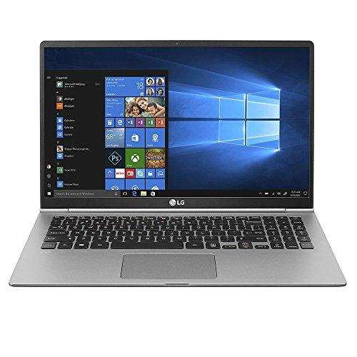 "LG Gram Thin and Light Laptop - 15.6"" Full HD IPS Display, Intel Core i7 (8th Gen), 8GB RAM, 256GB SSD, Back-lit Keyboard - Dark Silver – 15Z980-A.AAS7U1"