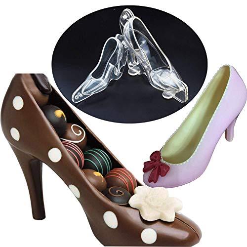 7.5 Inch High Heel - 3D Life Size Plastic High Heel Shoe Mold 7.5