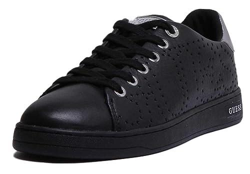GUESS, CARTERR2 White Zapatilla Blanco/Dorado para Mujer: Amazon.es: Zapatos y complementos