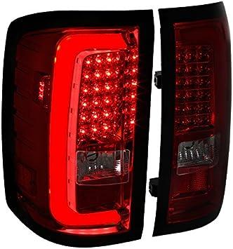 FOR 2014-2017 CHEVY SILVERADO 1500 2500 3500 HD LED TAIL BRAKE LIGHTS LAMP SMOKE