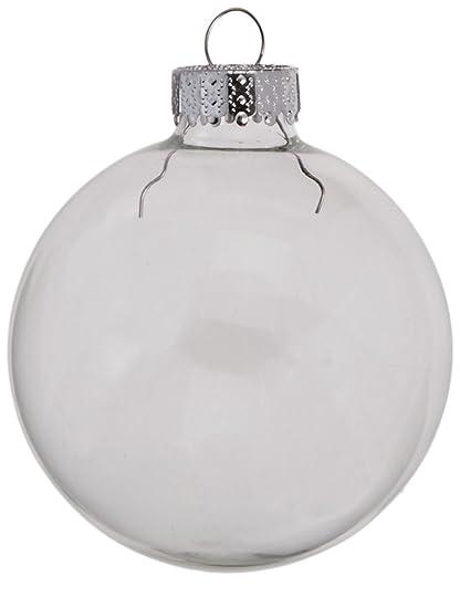 Darice 9 Piece Glass Ball Ornaments 2 5 8 Inch