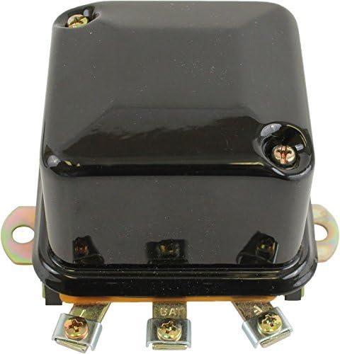 4-Terminal Delco 1118981 New Voltage Regulator For Generators Dual Polarity 1900-343-M91 1118988 1119577 1825-48-M91 Two-Unit Type GRX297 A-Circuit 511-472-M1 12336883 D655 1825-48-M92
