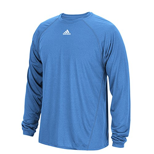 Adidas Climalite Mens Long Sleeve Training Tee XL Light - Shirt Adidas Long Sleeve