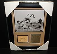 Autographed Ty Cobb Photo - Cut Facsimile Reprint Framed 8x10 - Autographed MLB Photos