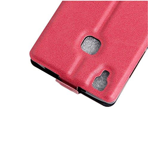 Funda Libro para Doogee X5 Max, Manyip Suave PU Leather Cuero Con Flip Cover, Cierre Magnético, Función de Soporte,Billetera Case con Tapa para Tarjetas E